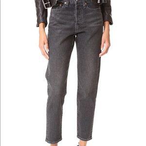 Levi's Wedgie fit grey jean